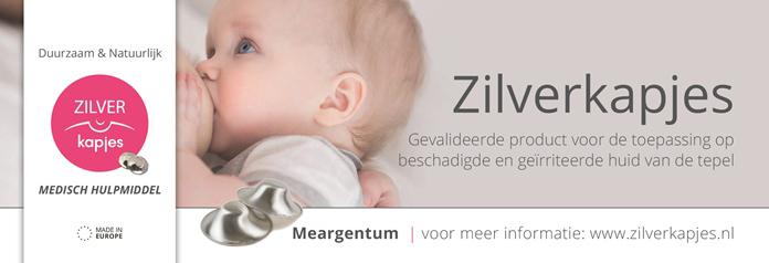 Samen Zwanger - Banner Zilverkapjes - borstvoeding