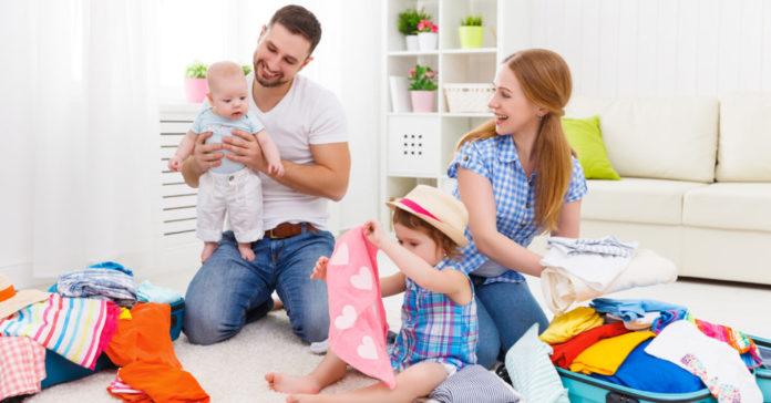 Samen Zwanger - Checklist Inpaklijst voor reizen met een baby