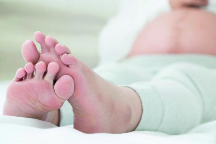Samen Zwanger - Zwanger Vergeet je voeten niet!